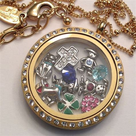 Origami Owl Large Gold Locket With Crystals - 17 best images about origami owl gold on mardi
