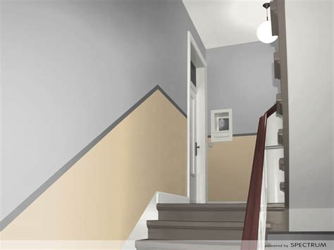 treppenhaus entwürfe für kleine räume wohnzimmer in orange braun und teakholz