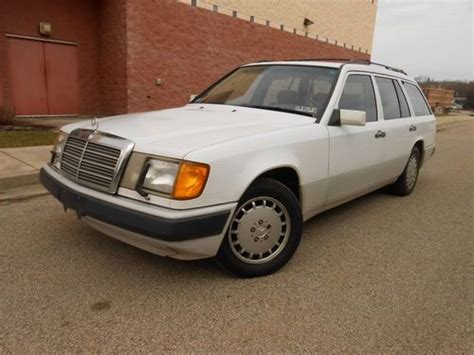 how to work on cars 1992 mercedes benz 300d on board diagnostic system sell used 1992 mercedes benz wagon 300 te 4matic white in delmont pennsylvania united states