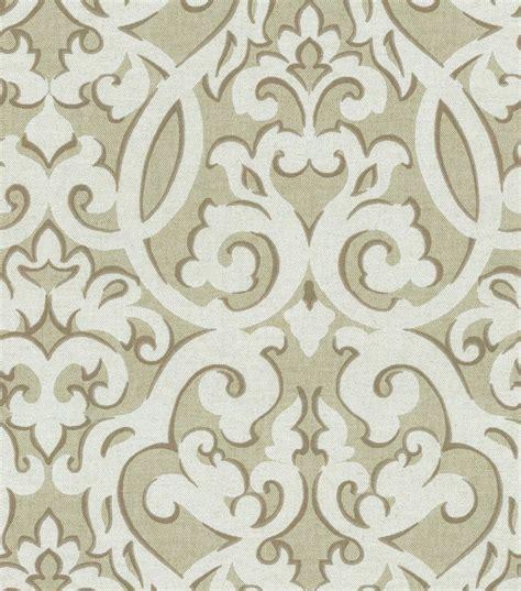 printable fabric joann waverly upholstery fabric evening scroll stone
