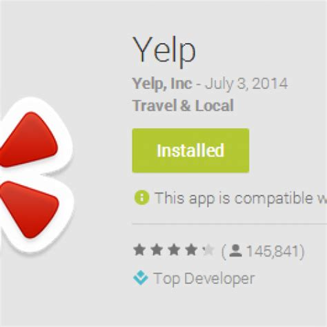 yelp app android july 2014 archives androidguys