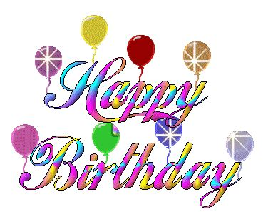 Happy Birthday Wishes Animation Emoticons Animated Gifs Collections Animated Happy