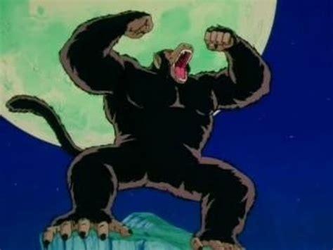 imagenes de goku ozaru dbz gohan s first great ape transformation greek hd