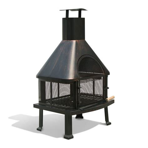 pit chimney metal pit with chimney pits black outdoor