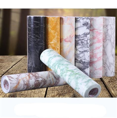 Wallpaper Pvc Marmer kopen wholesale marmer sticker uit china marmer sticker groothandel aliexpress