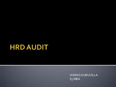 Mba Hrd Notes by Hrd Audit