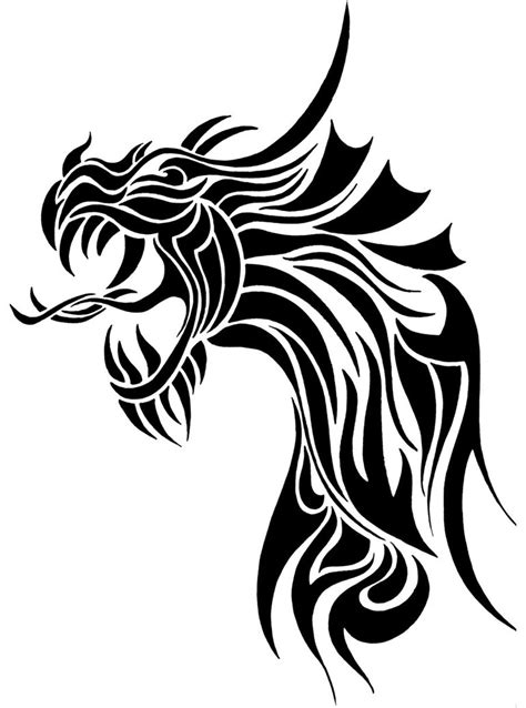 tribal dragon head tattoos tattoos designs ideas page 55