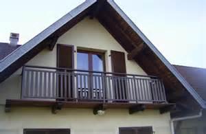 Design Garage balustrade de balcon en bois