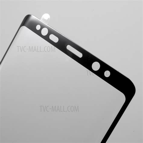 Tempered Glass Note 8 size tempered glass screen protector for samsung galaxy note 8 black tvc mall