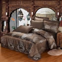 parure de lit en soie 22 momme sans couture jacquard