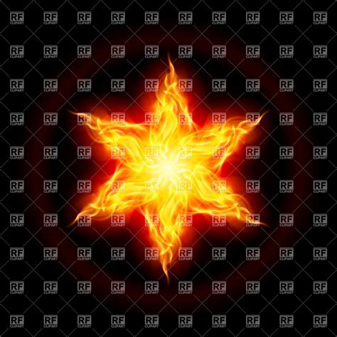 of fire and stars abstract six point fire star 7210 backgrounds textures abstract download royalty free