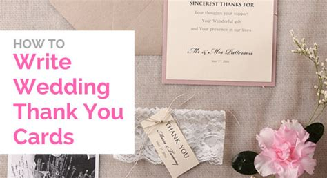 How To Write A Thank You Card For Christmas Gifts - how to write a wedding thank you card
