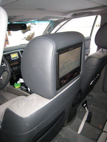 tv plate 2426 flip monitor or headrest monitors toyota 4runner