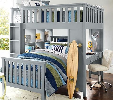 Bunk Bed Sets For Boys To Be Pottery Barn And Colors On