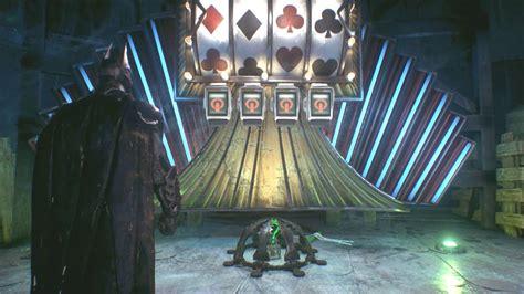 batman arkham knight slot machine riddler secret youtube