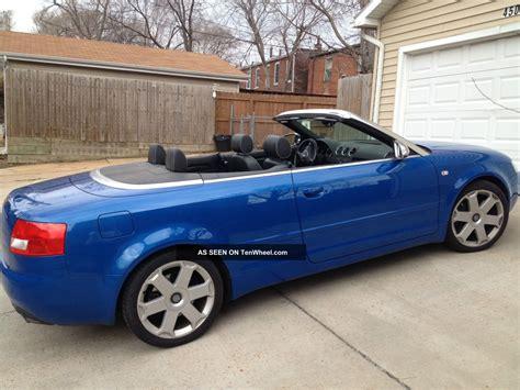 audi 4 door convertible 2004 audi s4 cabriolet convertible 2 door 4 2l