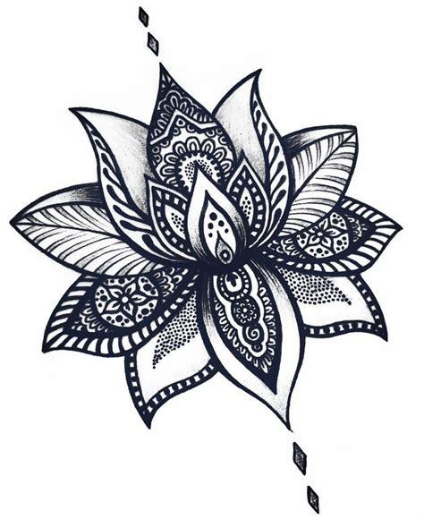 imagenes de flores hindu las 25 mejores ideas sobre tatuajes de flor de loto en