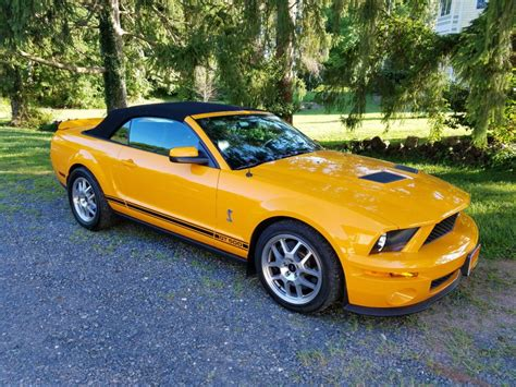 2008 Ford Mustang For Sale by 2008 Ford Mustang Shelby Gt500 Convertible For Sale