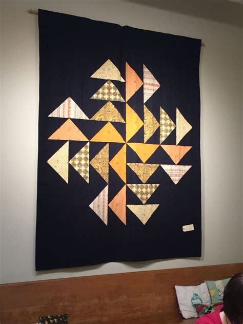 Modern Quilt Wall Hanging by De 20 Bedste Billeder Fra Flying Geese Quilts P 229