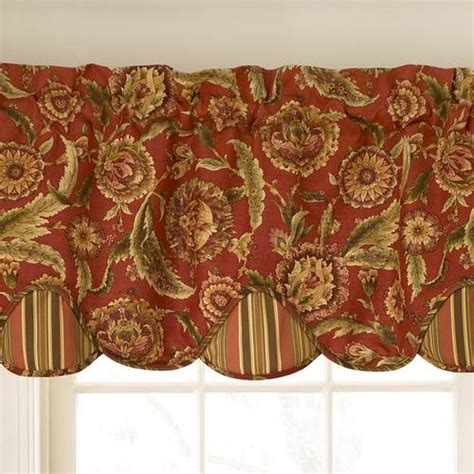 Clearance Kitchen Curtains Waverly Curtains Clearance Waverly Grand Bazaar Valance By Waverly Bedding The Home