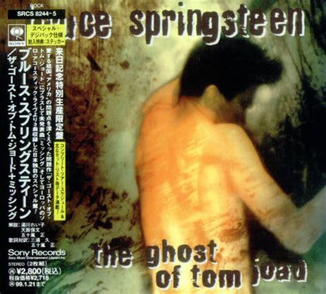 Cd Bruce Springsteen The Ghost Of Tom Joad bruce springsteen the ghost of tom joad sales presenter japanese promo 2 cd album set