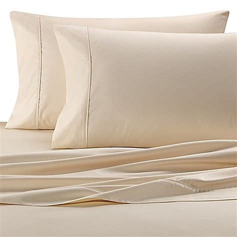 bed bath and beyond egyptian cotton sheets buy wamsutta 174 620 thread count egyptian cotton california king sheet set in ivory