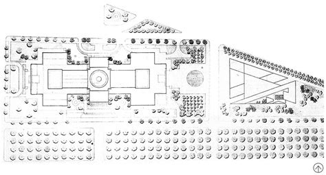 national gallery of floor plan the landscape architecture legacy of dan kiley the