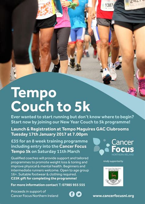 how couch to 5k works tempo gearing up for couch 2 5k tempo maguires g a c