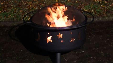 landmann feuerstelle feuerkorb  mit grillrost und