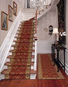 Stair Runner Rug Palace Garden Salmon Pattern Carpet Stair Runner