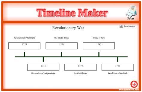 Timeline Maker Printable Timeline Generator Printable