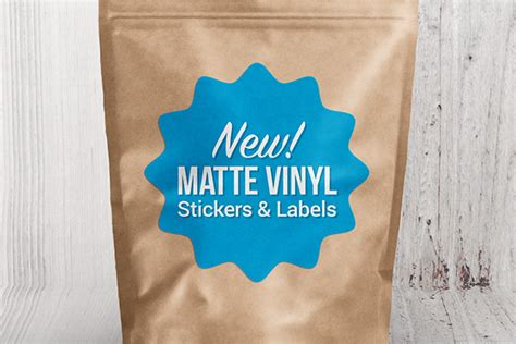 Vinyl Label Stickers
