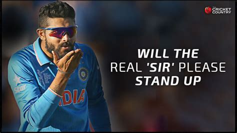 Will The Real Iphone Stand Up by Will The Real Ravindra Jadeja Stand Up In Icc
