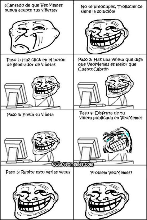imagenes de memes troll en español ciencia del troll imagenes humor taringa