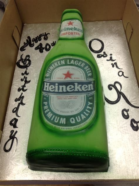 Heineken Birthday Cake Imgkid Com The Image