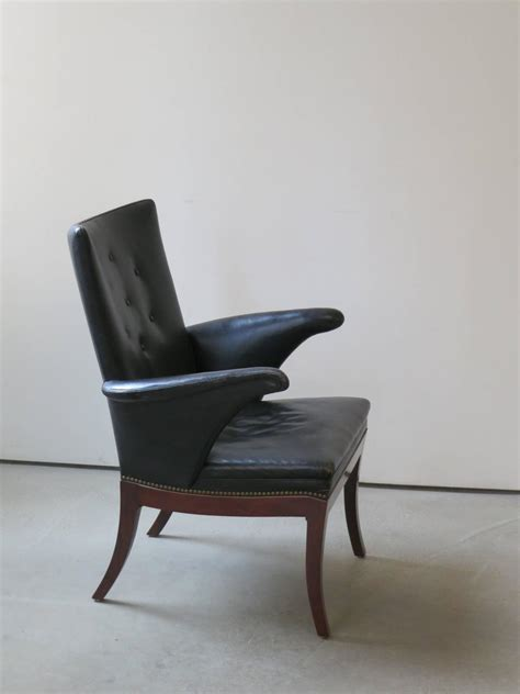 1930s armchairs for sale 1930s armchair in original black leather by frits