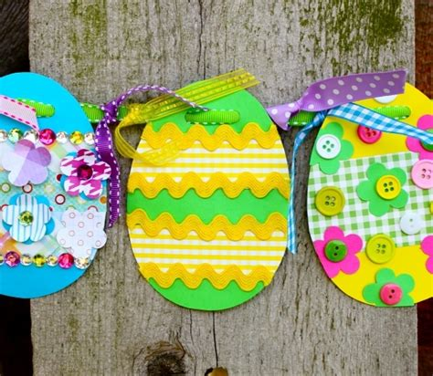 Easter Egg Paper Crafts - easter egg craft craftshady craftshady
