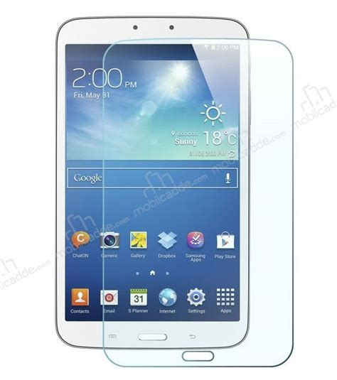 Tempered Glass Tab 3 8 eiroo samsung galaxy tab 3 8 0 tempered glass tablet