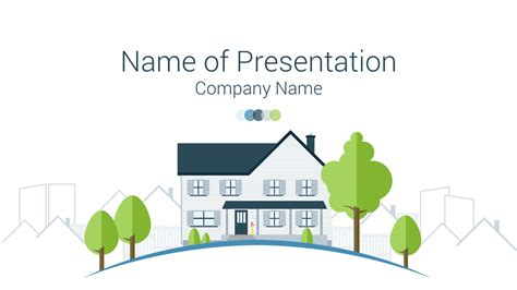 Real Estate Powerpoint Template Presentationdeck Com Powerpoint Real Estate Templates