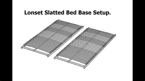ikea lonset vs luroy ikea lonset slatted bed base assembly ikea ytwp youtube