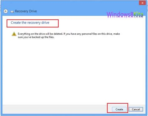 membuat dvd recovery windows 8 cara membuat sistem recovery drive pada windows 8