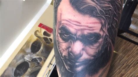 joker tattoo youtube joker tattoo by daksi youtube