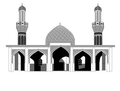 vector art  mosque  iraq  behance vector art