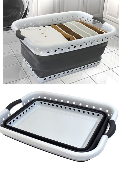 17 best ideas about collapsible laundry basket on pinterest house gadgets rv organization and