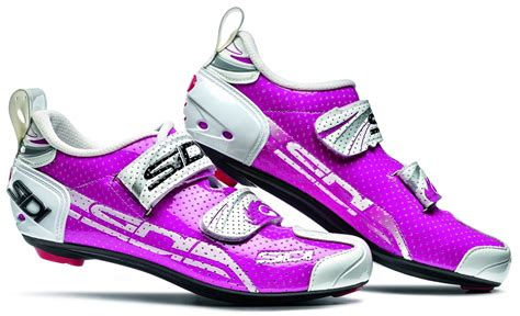 womens bike shoes sidi s t 4 air carbon triathlon cycling shoes