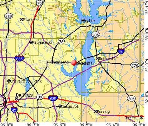map of rowlett texas rowlett texas tx 75088 profile population maps real estate averages homes statistics