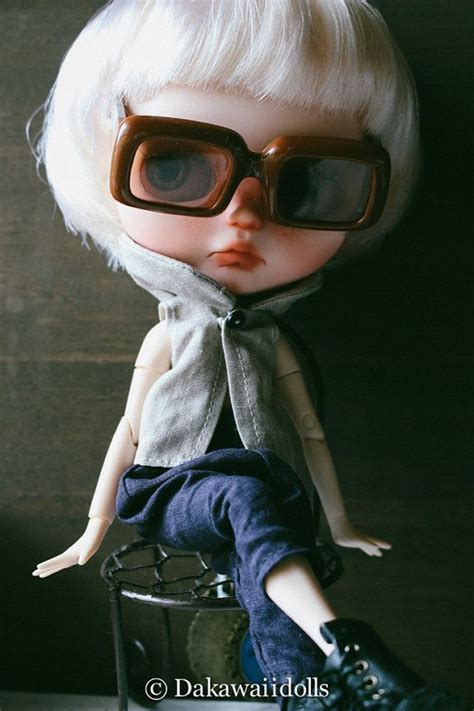 porcelain doll with glasses 74 best images about blythe dolls wearing glasses on