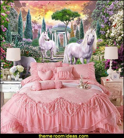 Unicorn Bedroom Decorating Ideas by Decorating Theme Bedrooms Maries Manor Unicorn Wall Murals