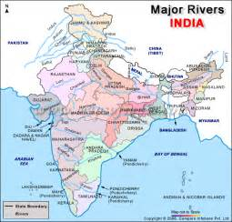 india river map with dams
