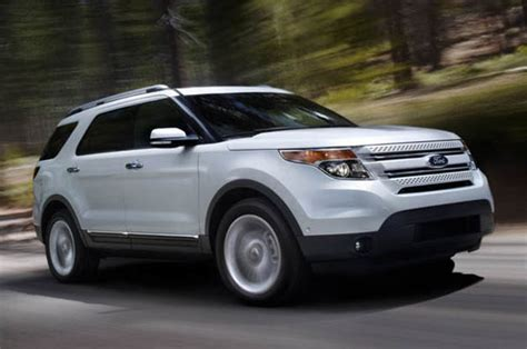Ford Explorer Recall by Ford Recalls Select Explorer E Series Vans